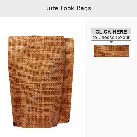 Jute Look High Barrier Bags