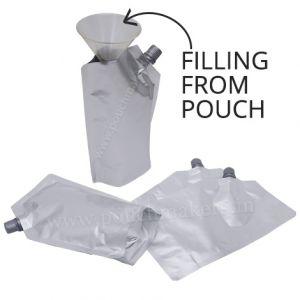 10mm Spout Pouches (Corner Spout / Filling From Pouch)