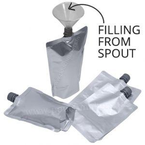 16mm Spout Pouches (Center Spout / Filling From Spout)