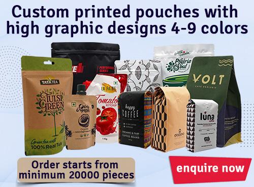 Custom Printed Pouches
